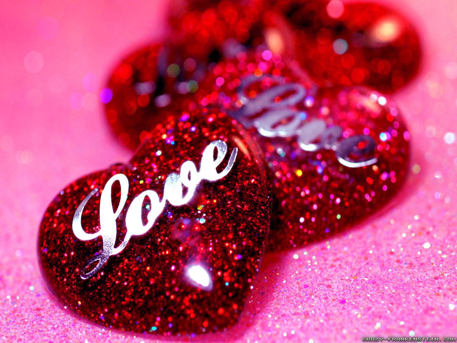 Image Avec Des Coeur image de coeur: coeurs rouges love avec des strass et des paillettes