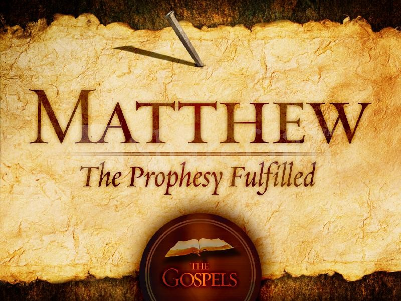 the gospel according to matthew 2 essay The importance of the gospel of matthew in church history cannot be overstated for jewish readers, it affirmed the messiahship of jesus, referring consisten.