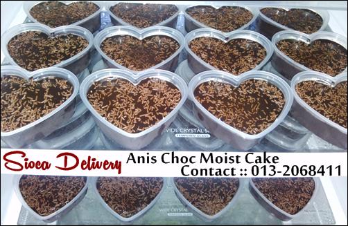 Agen Anis Choc Moist Cake Melaka