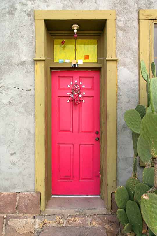 Pink Front Door | 540 x 810 · 29 kB · jpeg