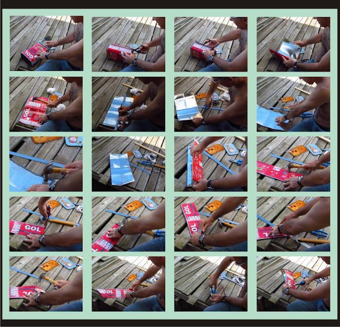 Como fazer um barco de lata