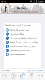 GPSMyCity features