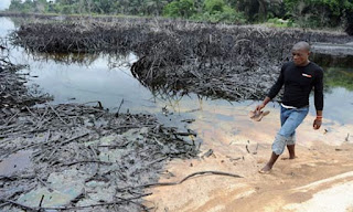 oil-polluted Ogoniland