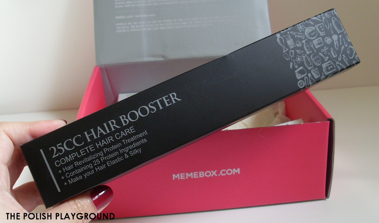Memebox #9 Unboxing - 25cc Hairbooster