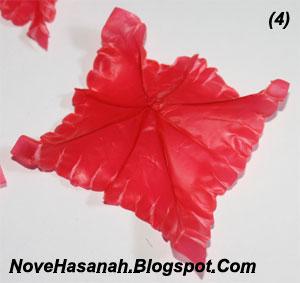 cara membuat bunga dari kantong plastik kresek bekas pakai yang sangat mudah 4