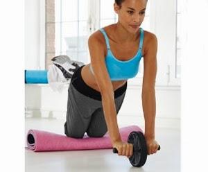 accesorios fitness rodillo para abdominales Lidl
