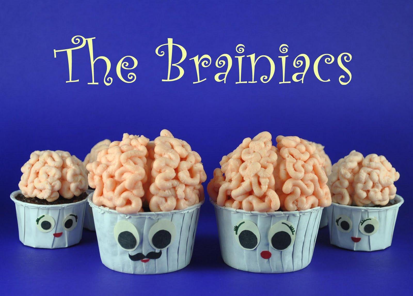 How to Make Brain Cupcakes (or Brainiac Cupcakes) - Bake Happy