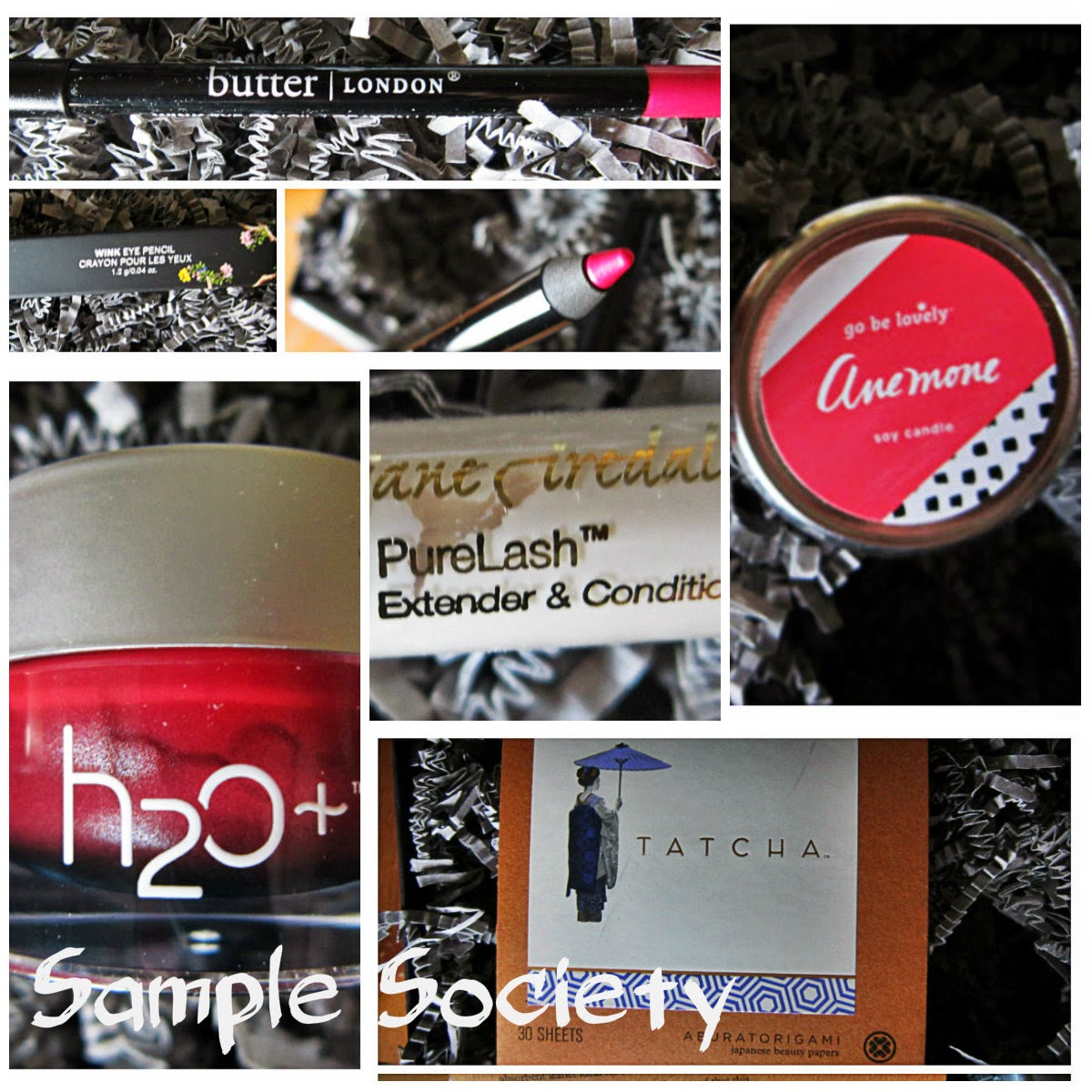 April 2014 Beauty Bar Sample Society