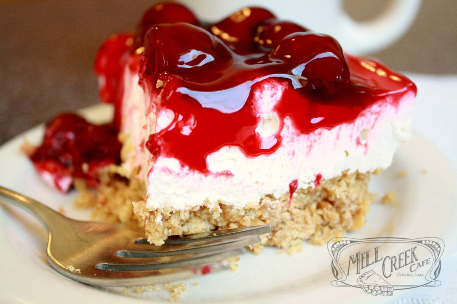 Mill Creek Cafe: Mill Creek Cherry Cheesecake