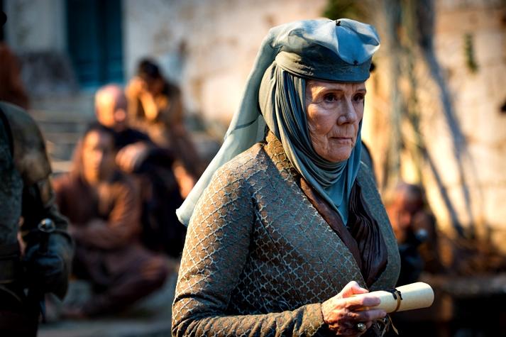 Diana Rigg en Juego de tronos
