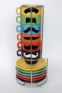 moustache espresso cups