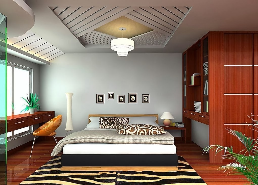 Ceiling design ideas for small bedrooms 10 designs for Bedroom designs ideas