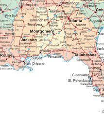 Map Of South Alabama And Florida Panhandle.Rela S Journal Southern Hospitality