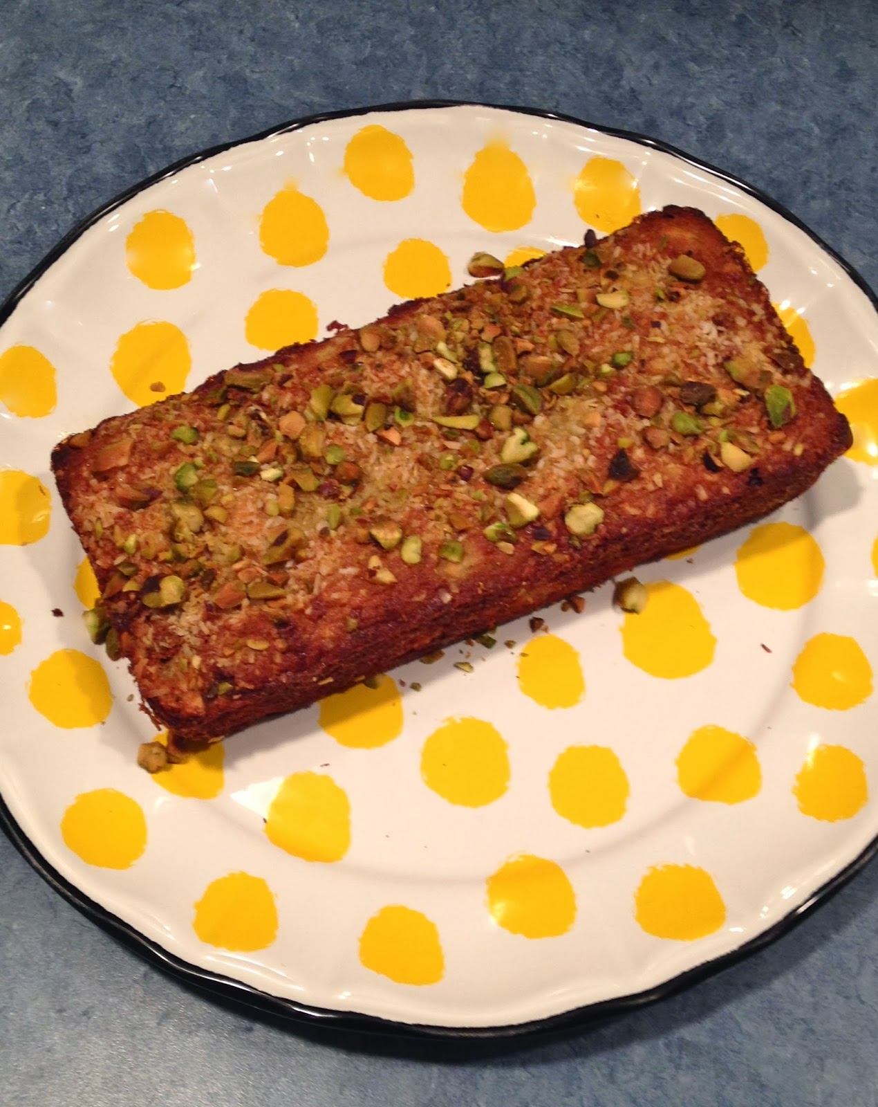 Paleo Lemon Coconut Bread: