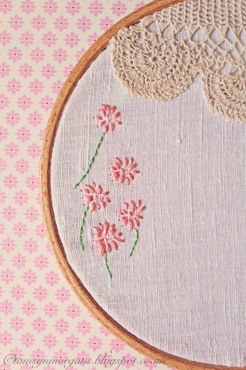 Craft ProjectEmbroidery Hoop  The Villa On Mount Pleasant
