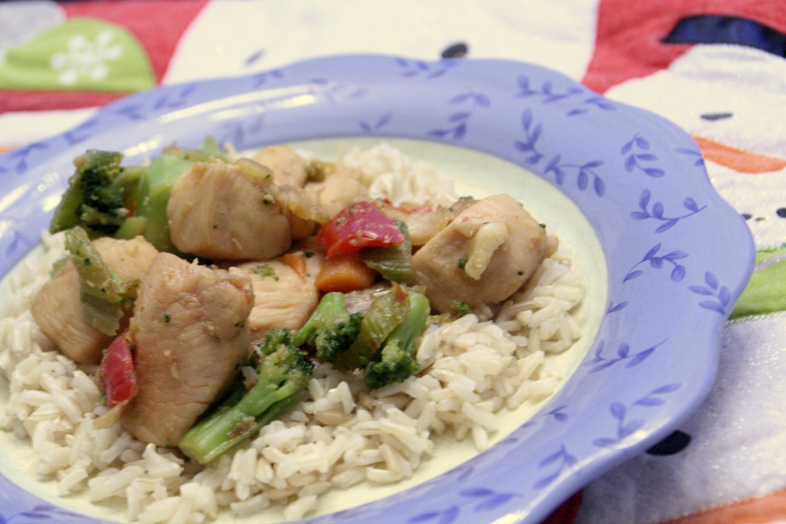 Tales from the Mad Men Kitchen: Honey Chicken Stir Fry