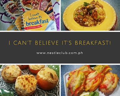 Nestle Launches I Can't Believe It's Breakfast Recipe Book