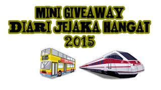 Mini Giveaway DIari Jejaka Hangat 2015