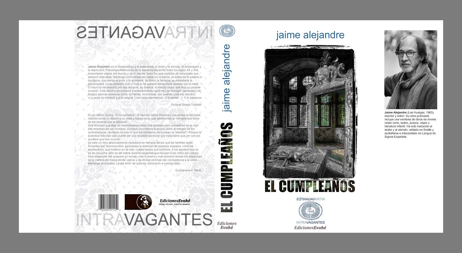 Nueva novela de Jaime Alejandre