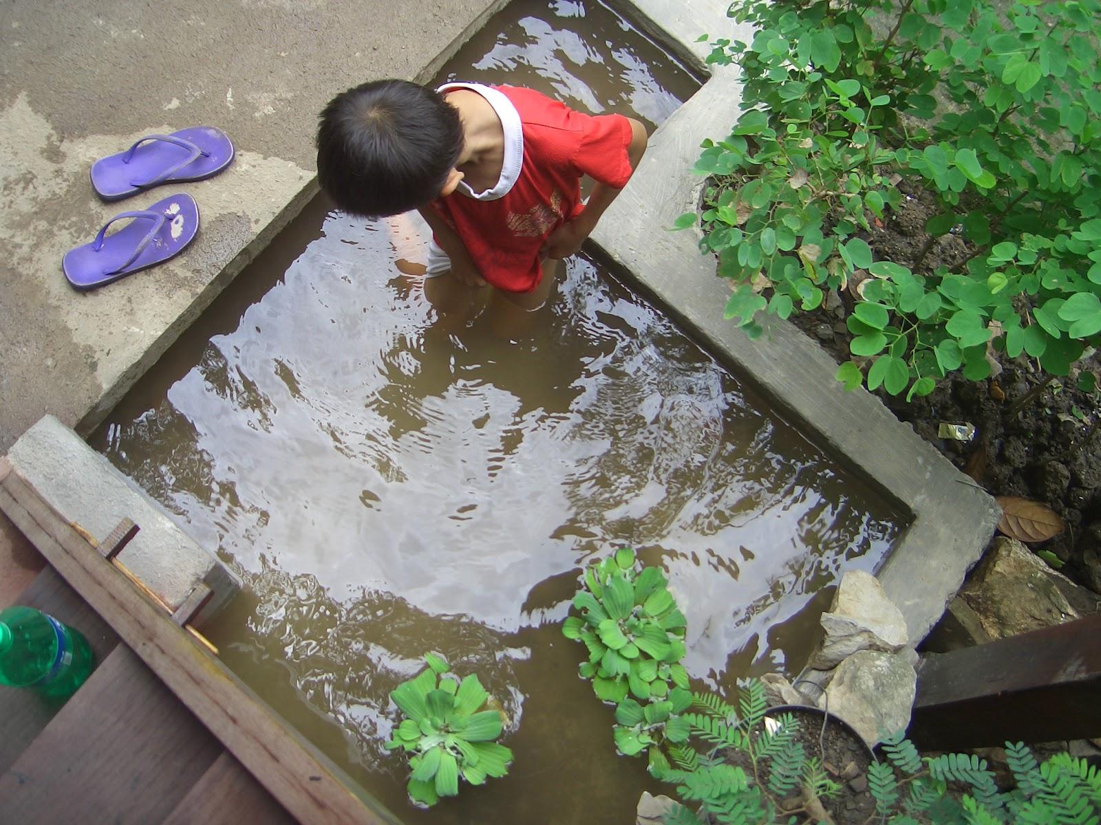 Al Ghozi anak SD Jadi Ikan kolam : essay news
