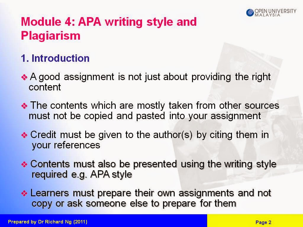 Structuring a paragraph in the main body of your assignment