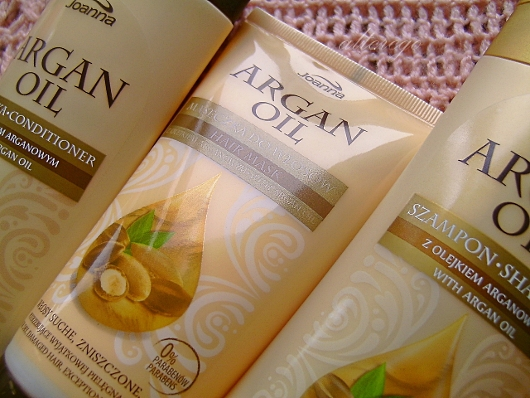 Recenzja: Linia kosmetyków Joanna Argan Oil + nowy wygląd bloga:)