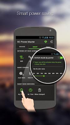 GO Battery Saver &Power Widget app icon screenshoot