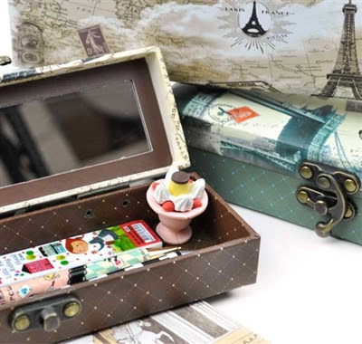 travel theme pencil cases at CoolPencilCase.com