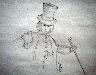 willy wonka cartoon