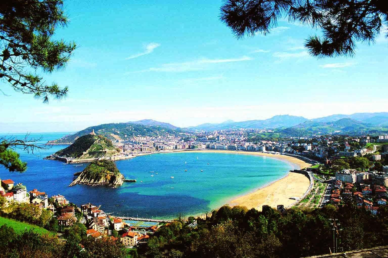 удивителен плаж в Испания
