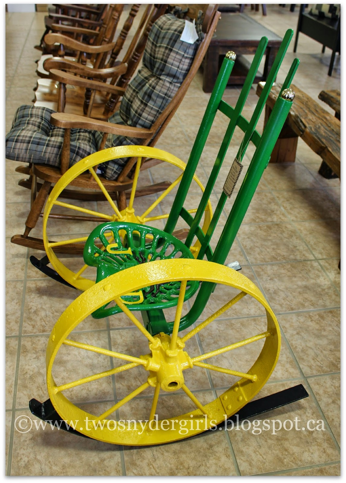 John Deer Chair