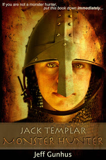 Book Blast: Jack Templar: Monster Hunter by Jeff Gunhus