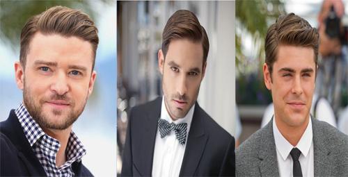 o clássico e atemporal cabelo partido de lado, side part, continua em 2016.