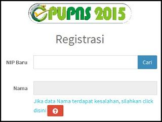 Situs Resmi untuk Cara Registrasi Pendataan Ulang (PUPNS) Tahun 2015