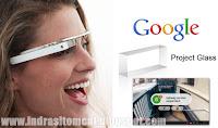 Pemasaran Google Glass Akan Dimulai 2014 Mendatang