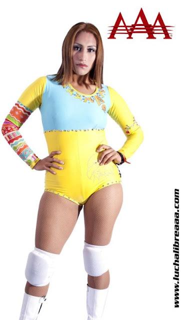 Faby Apache - Lucha Libre