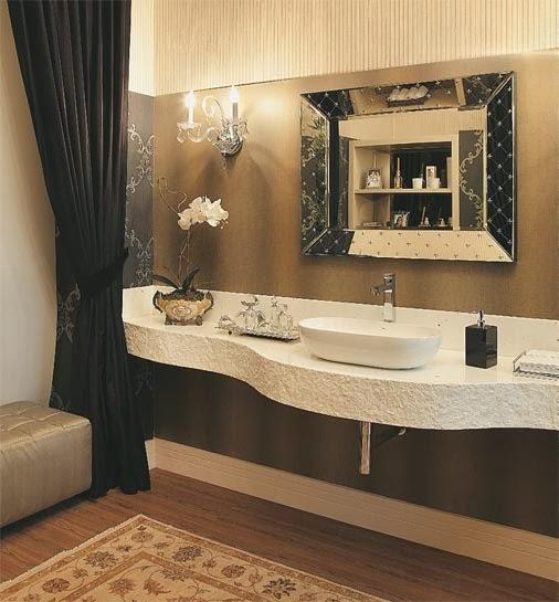 decoracao de banheiro estilo rustico – Doitricom -> Cuba Para Banheiro Rustico