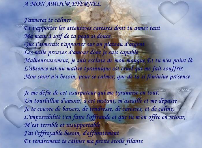 message d 39 amour et d 39 amiti carte et poeme d 39 amour a mon amour eternel. Black Bedroom Furniture Sets. Home Design Ideas