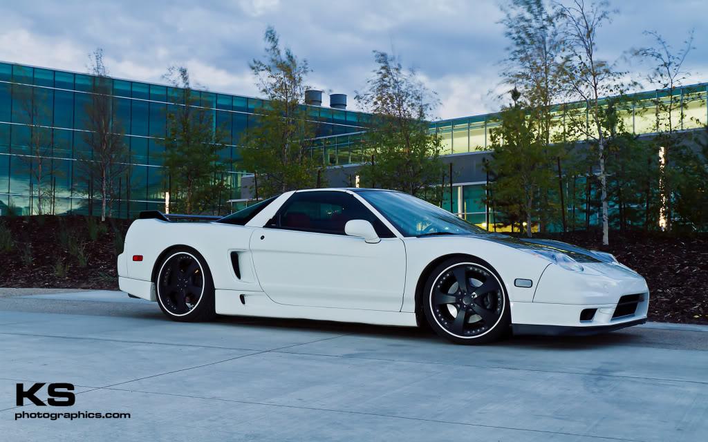 Honda NSX VTEC V6 japoński sportowy samochód supercar kultowy piękny desing tuning 日本車 ホンダ アキュラ