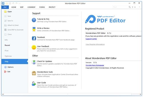 Wondershare PDF Editor v3.7.1.5