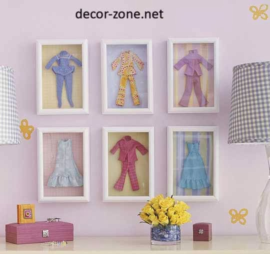 kids room wall decor ideas, wall frames, decorative framework, wall decorations