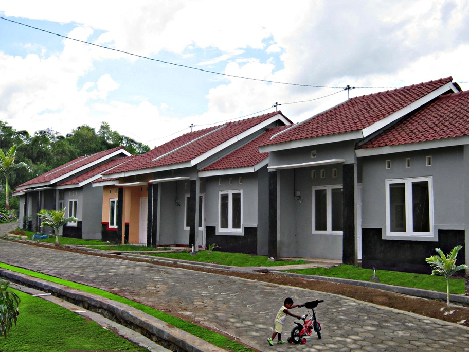 Contoh  RST 36 ( Gb.Rumah lokasi  Perumnas Bumi Trimulyo Blok D-3)