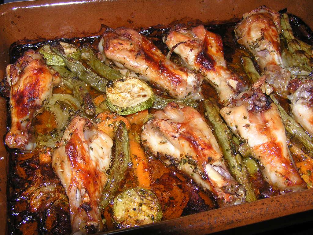 La cocina de tene y elisa jamoncitos de pollo con verduras - Verduras rellenas al horno ...