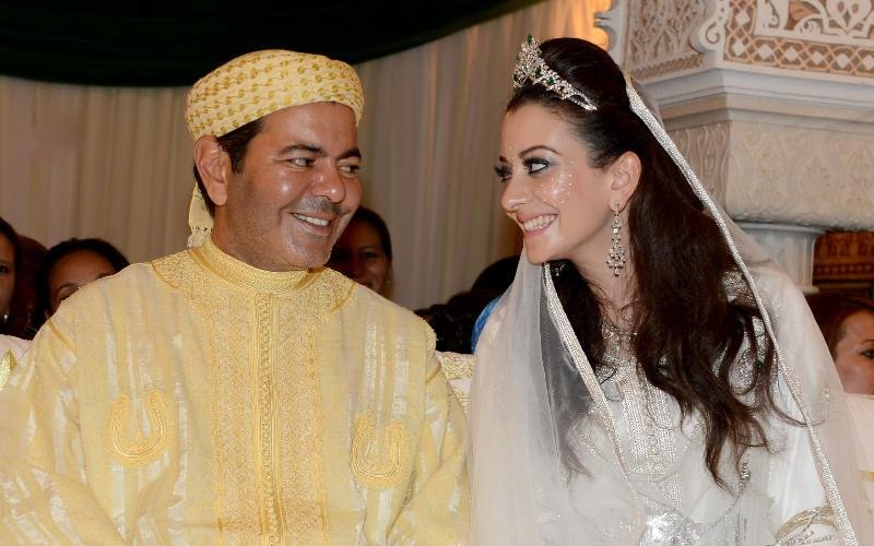 Prince Moulay Rachid with Lalla Oum Keltoum