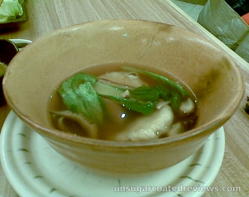 Sumo Sam SumoSam gyoza soup