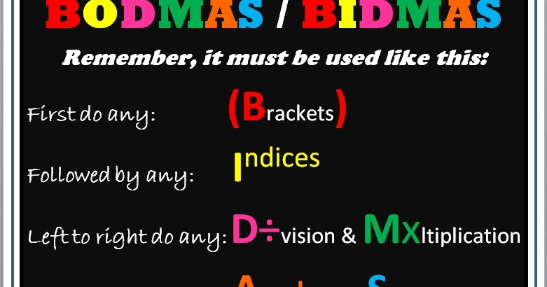 Page as well Top Foundation Questions likewise Page besides Maths Bmagpie in addition Bodmas Bidmas. on posters for bodmas bidmas misconception
