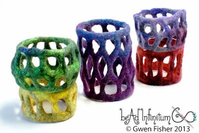 Felt Lace Bracelets