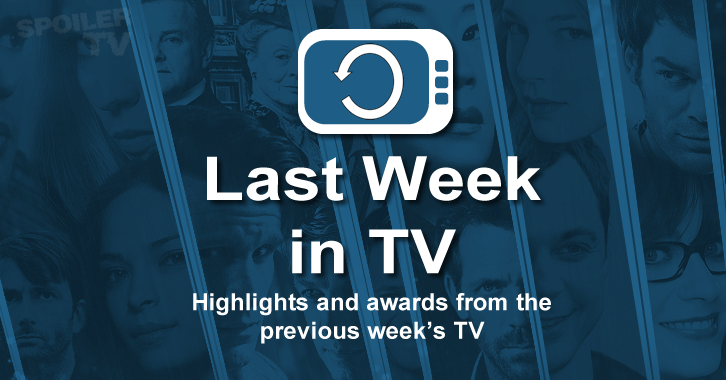 Last Week in TV - Week of July 6