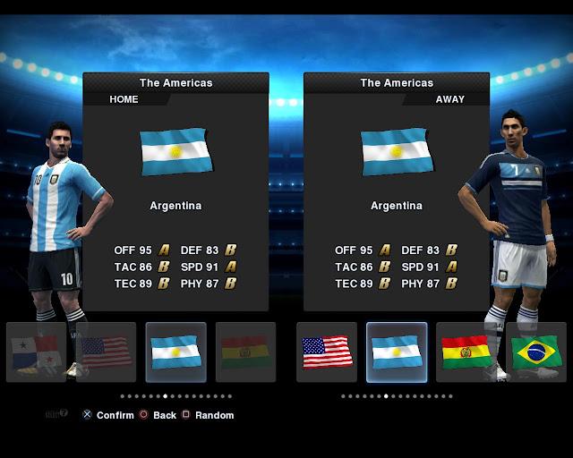 Argentina 2012/13 Kitset - PES 2013