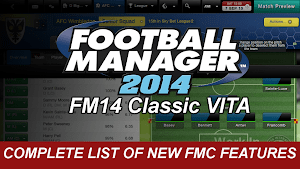 Football Manager Classic Vita features and screenshots